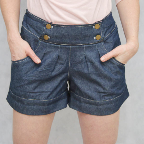 berry bubble shorts