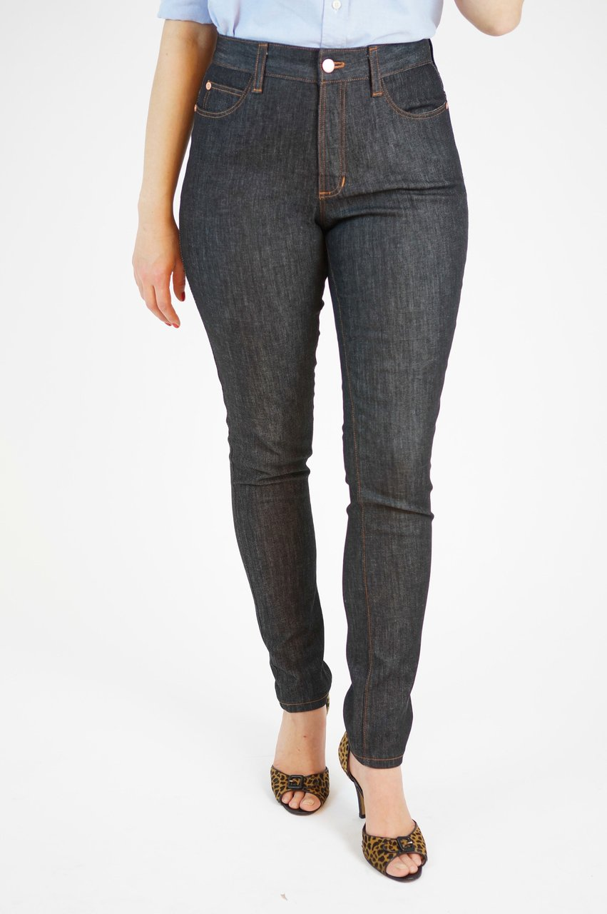 ginger skinny jeans