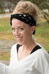 worn as a headband